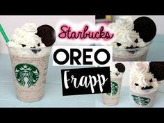 Starbucks OREO Frappuccino - YouTube