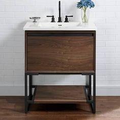 "Fairmont Designs 1505-V30 m4 30"" Vanity - Natural Walnut"