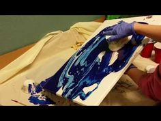 Acrylic Pouring with Flip Cups - YouTube
