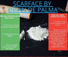 Quick review of Scarface by Brian De Palma #shortmoviereview #moviereview #briandepalma #briandepalmamovies #scarface #alpacino #tonymontana Al Pacino, Cult Movies, See Videos, Vintage Movies, Palmas, Old Movies