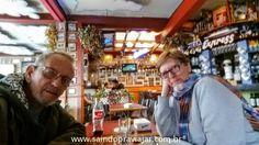 Ushuaia - Março/Abril 2016 almoço Pizza Express - Rio Gallegos - Argentina