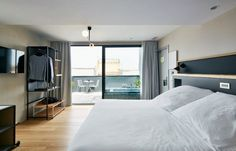 From boutique hotels in the city centre to hilltop retreats, these are the most romantic hotels in Barcelona for couples in need of a little quality time. Hotels And Resorts, Best Hotels, Restaurants, Interior Styling, Interior Design, Villa, Barcelona Hotels, Home Office Organization, Organizing