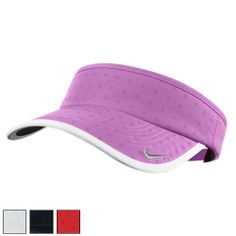 Nike Ladies Dot Adjustable Golf Visors dfefdf3111