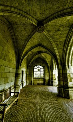 Arches of the Castle... Amboise, France Copyright: Yves Lambert