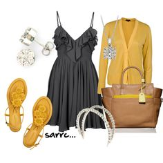Yellow and Gray...Summer