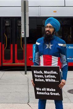 Sikh Captain America