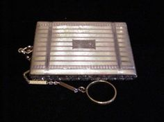 1930's Compact Purse Vintage Evans Compact by PowerOfOneDesigns