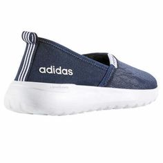 best loved 945be 98f1b NEW Adidas Neo Women s Ladies Cloudfoam Lite Racer Slip Running Shoes  Black Navy