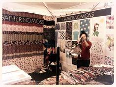 1st day at London Textile Fair
