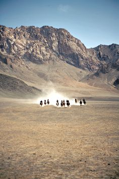 Racing across the steppes is all part of Murghab's At Chabysh festival, an annual celebration of Kyrgyz horsemanship.