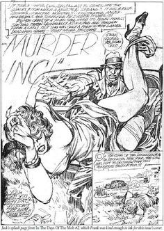 Murder Inc. - pencils by Jack Kirby, inks by Frank Miller *