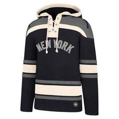 New York Yankees Men s 47 Brand Navy Pullover Jersey Hoodie Detroit Game 5ff7d61da