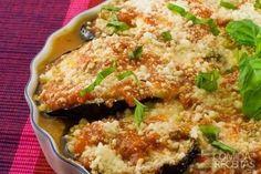 Receita de Berinjela ao forno em receitas de legumes e verduras, veja essa e outras receitas aqui!