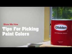 Show me How Videos from Glidden - Tips For Picking Paint Colors - thehouseofsmiths.com  #gliddenpaint #paintingyourhome #paintingtips