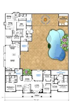 36 Ideas For House Plans With In Law Suite In 2020 Family House Plans Multigenerational House Plans Mother In Law Apartment