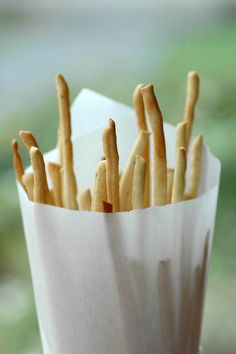 Savoring Time in the Kitchen: Grissini - Bread Sticks Made with My Pasta Rollers