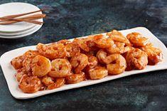 Cajun BBQ Shrimp- Super easy & super fast 3 ingredient shrimp. (Shrimp, BBQ sauce, & Cajun Seasoning.) Serve over/with rice & a nice salad.