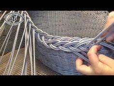 Объемная загибка «ажурная коса» | woblacco
