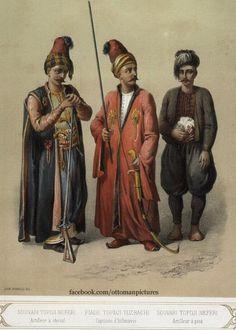 OTTOMAN SOLDIERS Osmanlı Askerleri.