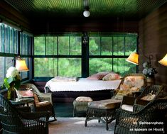 Sleeping porches! Read all about them. (remember hearing stories about my Great Grandparents having one!)
