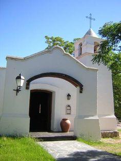 capilla, en el pueblito Piedras Blancas, Merlo, San Luis, Argentina