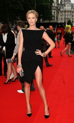 Charlize Theron's leggiest looks