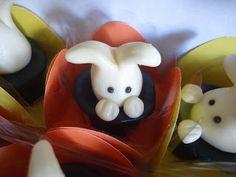 Sabor & Brilho: Doces modelados de leite ninho - Circo