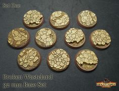 Dragon Forge starts bringing you the first of their new 32mm bases for your new Space Marine armies with their Broken Wasteland set. And since 32mm isn't the only type of base you might need …