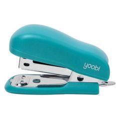 Mini Stapler with Staples - Aqua
