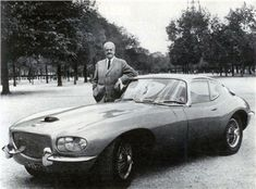 Jaguar XKE Coupe (1966) by Pichon Parat designed by Raymond Loewy