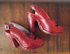 vintage heels, swoon-a-rama