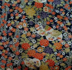 Japanese vintage kimono silk fabric Rose Pink Iromugi