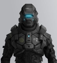 Future Warrior, Armor, Military, Robot, WAR : close up by olivier | http://3dcharacterscollections.blogspot.com