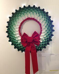 15 ideas para decorar con cucharas de plástico