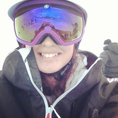 69cbf816f6b  happy  girl  snowboarding  snowboard  sunshinevillage  winter   electricvisual  helmet  stoked -  sannoshh-  webstagram