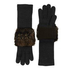 I love the Echo Faux Fur Cuffed Glove from LittleBlackBag