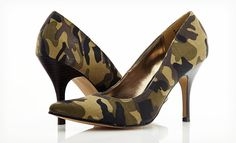 Camouflage Heels by Rampage - PRICE DROP! Edgy and fun camo heels by Rampage Rampage Shoes Heels Camo Heels, Shoes Heels, Pumps, Camo Fashion, Fashion Shoes, Foot Powder, Stiletto Heels, High Heels, Army Fatigue