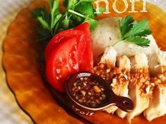 炊飯器ひとつで!シンガポールチキンライス (カオマンガイ)
