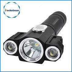 Portable Lighting Sky Ray 6-led T6 Led Flashlight 3600lm 3-mode White Light Flashlight 4x 18650 High Brightness Lantern Led Lamp Torch
