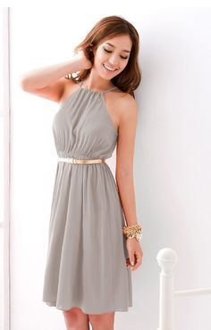1clickoffer.com offers cheap clothing for women | See more about date night dresses, light grey and high waist.