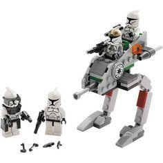 lego star wars, piezas montadas - (dla Guerra dlos Clones...)