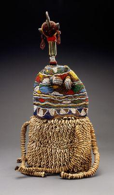ade Bayanni (crown of Bayanni), Nigeria, Yoruba peoples, 1977, Fowler Museum at UCLA.