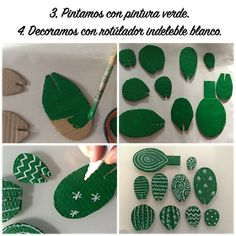 Anachicuca: DIY: CACTUS ETERNO Cardboard Sculpture, Cardboard Crafts, Paper Crafts, Clay Crafts, Deco Cactus, Cactus Decor, Cactus Cactus, Indoor Cactus, Diy For Kids