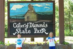 Crater of Diamonds State Park.you really get out there and dig and it is HOT! They have a water park as well so you can cool off. We didn't find any diamonds :o( Losing A Loved One, Dancing In The Rain, Family Vacations, Arkansas, Laugh Out Loud, State Parks, Diamonds, Cool Stuff, Friends