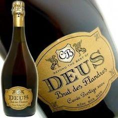Cerveja DeuS Brut des Flandres, estilo Bière de Champagne / Bière Brut, produzida por Bosteels, Bélgica. 11.5% ABV de álcool.