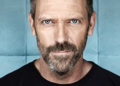 Hugh Laurie as Gregory House Gregory House, House Md, Aka House, Hugh Laurie, Gorgeous Men, Beautiful People, British Actors, Beard Styles, Character Quotes