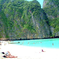 As if you actually need another reason to go to Thailand.   Maya Bay Beach