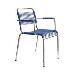 Spaghetti Stuhl mit Armlehne (3589) | Stuhl | Gartenmöbel | memorie.ch Outdoor Chairs, Outdoor Furniture, Outdoor Decor, Spaghetti, Home Decor, Pipes, Room Decor, Garden Chairs, Home Interior Design