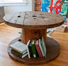 Cable reel table, craigslist $20