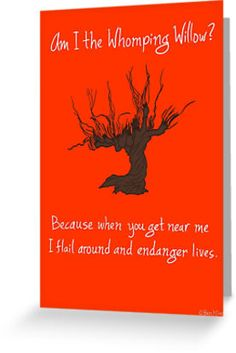 Whomping Willow Valentine  by Ben Kling